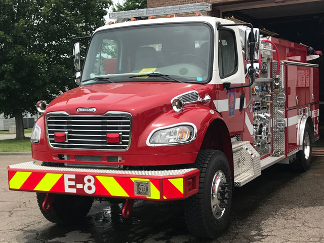 Boone Fire Department Engine 8