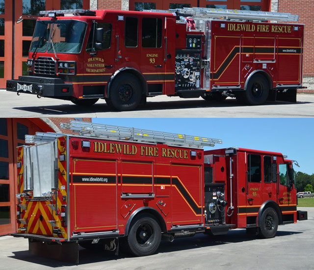 Idlewild VFD Engine 93